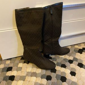 Rockport Knee High Brown Boots